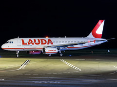 LaudaMotion | Airbus A320-232 | A7-ADJ (OE-LOJ) (Bradley's Aviation Photography) Tags: egsh nwi norwichairport norwich norfolk canon70d a320 qatar qatarairways lauda laudamotion oeloj a7adj airbusa320232 airbus airbusa320 aviation avgeek aviationphotography aircraft air airplane airport aeroplane airlines aerospace plane photgraphy planespotting flying flight jet nightphotos nightphotography night nighttime darkness longexposure tripod