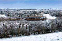 View towards the castle (Pat Kelleher) Tags: ireland landscape canon cork snow winter