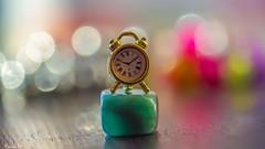 Mini Clock - 6489 (ΨᗩSᗰIᘉᗴ HᗴᘉS +50 000 000 thx) Tags: clock time mini macro miniclock bokeh color sony sonyilce7s belgium europa aaa namuroise look photo friends be wow yasminehens interest eu fr greatphotographers lanamuroise flickering