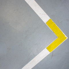 Abstract (godelieve b) Tags: lines abstraction abstract abstractreality diagonale square carré simplicity yellow jaune grey gris minimal minimalisme pavement