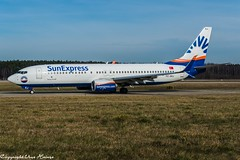 SunExpress TC-SEJ (U. Heinze) Tags: aircraft airlines airways airplane planespotting plane haj hannoverlangenhagenairporthaj eddv flugzeug nikon nikon28300mm d610