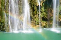 Cascade de Sillans (Yann OG) Tags: sillanslacascade france french français sillans var paca cascade waterfall arcenciel rainbow couleur color colorful poselongue longexposure 50mm nd400