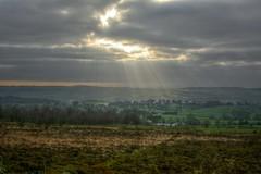 UnderTheSun (Tony Tooth) Tags: nikon d7100 nikkor 35mm f18g hdr rays sunlight countryside sky cloud rudyard gunhill staffs staffordshire staffordshiremoorlands england