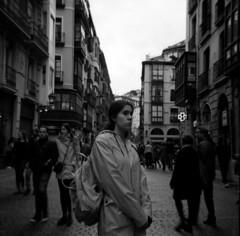 Retrato oscuro (Alberto Cabello Mayero) Tags: fomapan100 agfaclicki agfa bilbao lofi analog