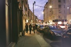 Negative0-07-07(1) (simona_stoeva) Tags: film analog 35mm canon ae 1 vienna travel trip city street night lights dark