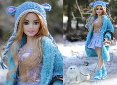 Blue Mouse Hat (BblinkK) Tags: barbie doll crochet hat mtm yoga