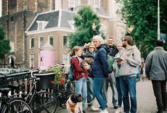 Amsterdam, Netherlands. (aqawitt) Tags: amsterdam ams agfa agfavista agfavista400 vista400 street snap streetphotography shootfilm shooting film filmphotography fm2 analog nikon netherland nikonfm2 nikkor negative holland dutch