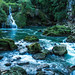 A Small Waterfall and the Cahabon River