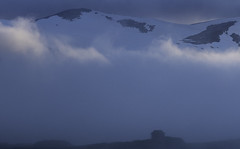 A little light (tskogset) Tags: fog light blue cabin mountain snow clouds stranda møreogromsdal norway djupvatnet pentaxk5lls hdpentaxdfa28105mmf3556eddcwr flickr nature landscape