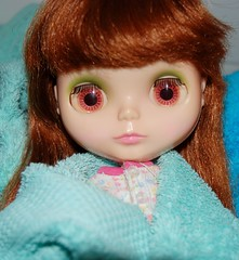 Kenners unite at the spa. (Athanassia) Tags: pop doll poppen dolls kenner blythe 1972 blonde sidepart brunette whispy bangs redhead thick vintage kb