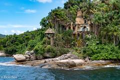 Ilha do Mantimento - Paraty (elcio.reis) Tags: riodejaneiro mar antigos paraty historic landscape island brazil ilha nikon history paisagem histórico brasil sea br