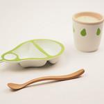乳幼児向け食器の写真