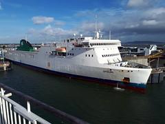 Epsilon (andrewjohnorr) Tags: epsilon irishferries ferry dublin