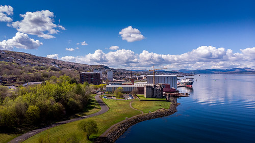 Aorund Port Glasgow Inverclyde