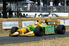 Benetton Ford B192 1992 P1420136mods (Andrew Wright2009) Tags: goodwood festival speed sussex england uk historic heritage vehicle classic cars automobiles f1 benetton ford b192 1992