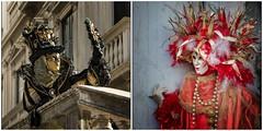 Venezia ... la coppia  ... (miriam ulivi - OFF/ON) Tags: miriamulivi nikond7200 italia venezia carnevaledivenezia maschereveneziane rosso red nero black gold oro febbraio2019 february2019 venetianmasks