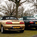 2001 MG F & 1997 Jaguar XK8 Convertible
