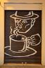 Black Coffee [Valencia - 28 January 2019] (Doc. Ing.) Tags: 2019 nikond5100 valencia hortadevalència comunitatvalenciana comunidadvalenciana spain metal iron irondetails detalhesemferro coffee urbanart graffiti streetart brown