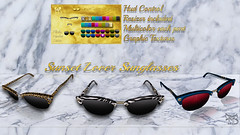 NEW RELEASE PROMO99 L$   ^TD^ Sunset lover Sunglasses (TreizedDesigns) Tags: