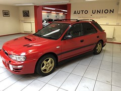 IMG_0324 (deeelux) Tags: red subaru impreza wagon 2000 turbo uk spec 1997 r981gfw