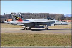 F18 C J-5017 Flugstaffel17 Payerne février 2019 (paulschaller67) Tags: f18 c j5017 flugstaffel17 payerne février 2019