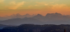 View from Thynne Mountain (edhendricks27) Tags: sunset landscape sky