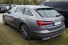 2018 Audi C8 A6 Kombi Heck (Joachim_Hofmann) Tags: auto fahrzeug audi 4ringe volkswagenkonzern a6 kombi kraftfahrzeug kfz