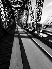 FB184336 E-M5ii 7mm iso200 f8 1_100s 0 (Mel Stephens) Tags: 20181118 201811 2018 q4 3x4 tall olympus mzuiko mft microfourthirds m43 714mm pro omd em5ii ii mirrorless gps bw black white silver efex structure bridge uk scotland garmouth moray spey best very