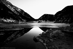 The mountains (Special Skills) Tags: mountain lake rockies winter bw xfinitythrottlesbandwidthillegally
