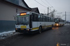 Troleibuzul S.A. 161 (Pavlos Andreas - Transport Photography) Tags: rocar desimon piatraneamt constanta bus trolleybus troleibuz