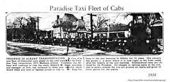 1934  1075 Madison  Paradise Taxi (albany group archive) Tags: 1930s pine hills old albany ny vintage photos picture photo photograph history historic historical