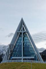 Arctic Cathedral (HansPermana) Tags: tromsø norway norwegen norge nordic scandinavia skandinavien europe europa nordeuropa herbst autumn 2018 november arcticcathedral church architecture tromsdalen