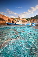 Bosa_180042 (ivan.sgualdini) Tags: 1635mm italy seaitaliano boat bosa canon city evening fishing goldenhour italia net river sardegna sardinia town it