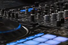 Music mixer (Lyutik966) Tags: button panel regulator detail mechanism electronics music equipment remotecontroller console structure amplifier technology crocusexpo moscow russia