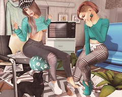 📷 ... ᵉ ˣ ᵖ ˡ ᵃ ᶰ ᵃ ᵗ ᶤ ᵒ ᶰ ˢ. (ℒزdsα) Tags: itdoll doll girl cute woman lotd fashion game gamer gamergirl gamedoll avatar sl secondlife slavatar slfashion free freebie mesh pixel virtual virtualworld beauty beautiful photo photograph snapshot clothing clothes picture blog blogger slblogger secondlifeblogger moda event evento roupas gratuito garota blogueira loja sponsor theepiphany teal gacha dog pooddle balloon beret hat redhead friends equal10 cosmopolitan