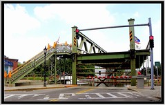 Brockport  New York - Main Street Lift Bridge - Historical Erie Canal (Onasill ~ Bill Badzo - 60 Million Views - Thank Yo) Tags: brockport ny newyork monroecounty lift bridge main street town village cast iron downtown nrhp historic eriecanal route tourist visitors boats stoplights