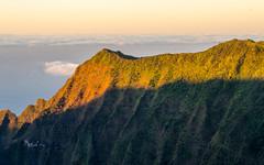 Nā Pali sunset (rao.anirudh) Tags: hawaii kauai
