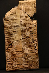 Tablet from Nineveh (calmeilles) Tags: london england unitedkingdom ashurbanipal britishmuseum assyria ancienthistory archaeology middleeast nineveh