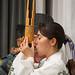 "Musicienne de Gagaku, ensemble ""Owari Miyabie"" (Maison du Japon, Paris)"