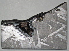 Octahedrite (Brenham Meteorite) (Kiowa County, Kansas, USA) 3 (James St. John) Tags: octahedrite iron meteorite brenham meteorites kiowa county kansas asteroid belt metal kamacite taenite nickel