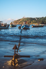 Ngapali Beach, Myanmar, 2019 (Etienne Gab) Tags: myanmar birmanie burma asia asie boat bateau boats bateaux boatrip ocean sea water canonef2470mmf28lusm canon rakhine arak arakanese state rakhinestate ngapali beach ngapalibeach tourism plage fishermen fishing sunset sun soleil