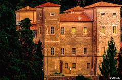 Castello di Pontebosio (danilocolombo69) Tags: castello torri ponte pontebosio borgo alberi bosco nikonclubit danilocolombo69 toscana danilocolombo