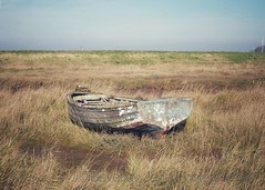 Pealing paint on boat (Artybee) Tags: gibraltar point lincolnshire olympus mirrorless camera em10