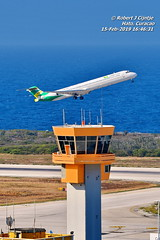 ATC Tower, Curacao International Airport Hato (rcijntje) Tags: hato tower laser airlines departure