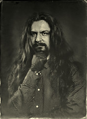Self portrait (Ambrotype) (Ambrotipescu) Tags: tintype collodion ambrotype wetplate wetcollodion vintage analog photography