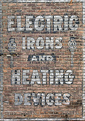 What The World Needs Now.... (DetroitDerek Photography ( ALL RIGHTS RESERVED )) Tags: allrightsreserved 313 detroit downtown urban sign painted faded ghostsign heating devices electric irons aged michigan midwest usa america detroitderek hdr 3exp canon 5d mkii digital cold polarvortex winter freezing