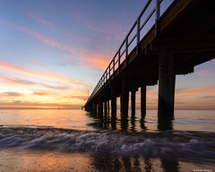 After Sunset at the Pier (Derek Midgley) Tags: dsc8929 seaford pier sky evening