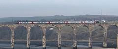 Cross Country Trains Class 221 (25/02/2019) (CYule Buses) Tags: royalborderbridge eastcoastmainline crosscountrytrains class221