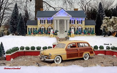 1949 Mercury Eight Squire Wood-Bodied Wagon (JCarnutz) Tags: 124scale diecast danburymint 1949 mercury squire graceland