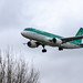 London Heathrow Airport: Aer Lingus Airbus A320-214 A320 EI-DVG